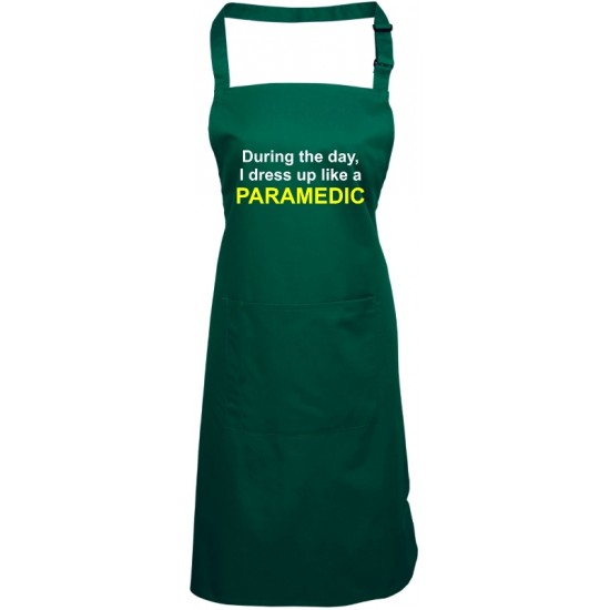 During the day, I dress up like a Paramedic / Doctor / Nurse etc. Apron (various Colours)