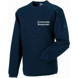 Heavy Duty Crew Neck Sweatshirt (choice of 6 colours)