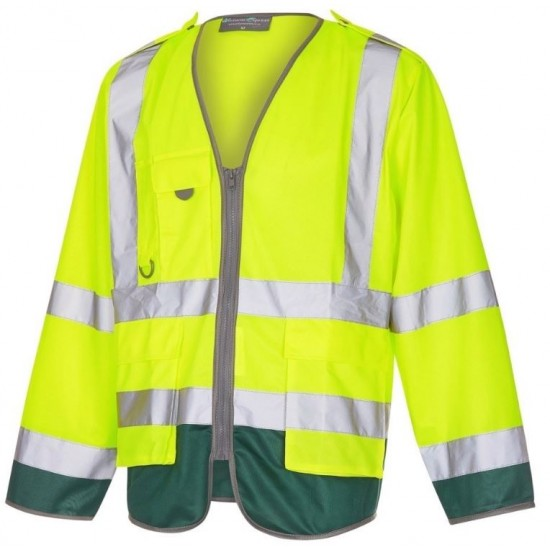 Ambulance Hi Visibility Lightweight Jerkin Yellow / Green