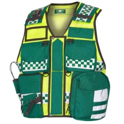 Ambulance Utility Vest Yellow / Green