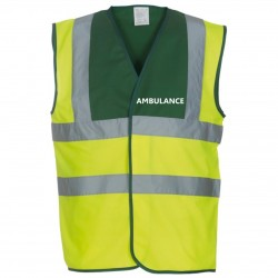 High Visibility Vest - Ambulance, paramedic etc.