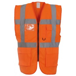 Multi-functional Executive High Visibility Vest / Waistcoat for Search and Rescue