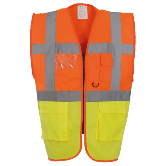 Multi-functional Executive High Visibility Vest / Waistcoat (lots of colour options)