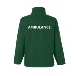 Full Zip Outdoor Fleece - Embroidered Ambulance, Doctor, Paramedic, Community Responder etc