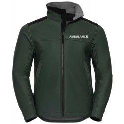 Softshell Workwear Jacket - Embroidered With Ambulance, Doctor, Paramedic, Community Responder etc