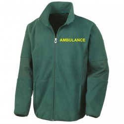 Ambulance Softshell Jacket - Available in Forest Green