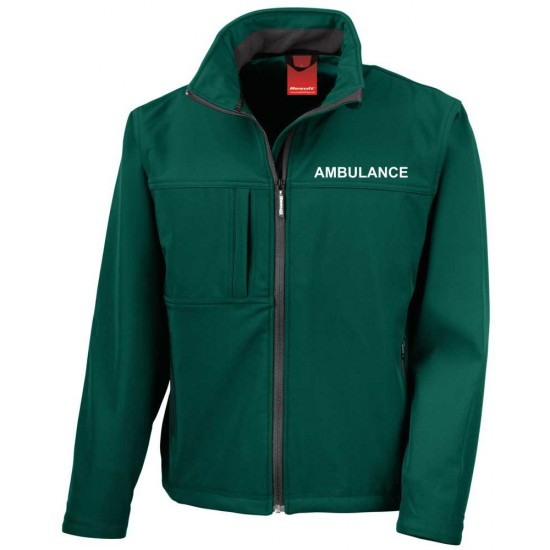 Embroidered Softshell Workwear Jacket - For Ambulance, First Responders, Community, Paramedics Etc.