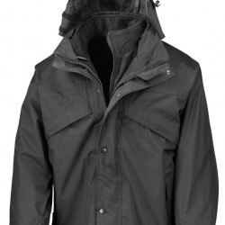 Ambulance Winter / Summer Coat - 3-in-1 zip and clip Jacket