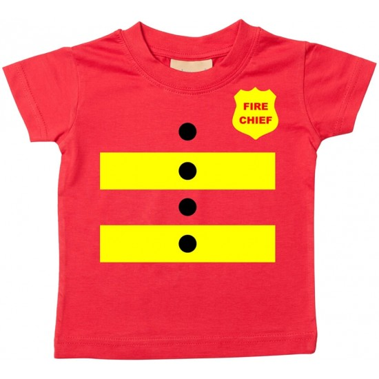 Fire Chief - Baby T-shirt