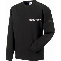 Heavy Duty Crew Neck Security Sweatshirt
