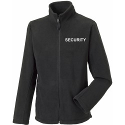 Full Zip Outdoor Fleece - Embroidered Security, Staff, Events etc