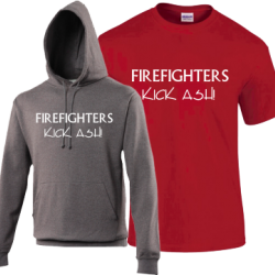 Fire Fighters Kick Ash - Perfect Gift for a fire fighter