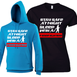 Stay Safe at Night.. Sleep With a Firefighter
