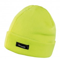 Insulated Yellow Beanie Hat