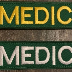 Medic Velcro Badge 100 x 40mm