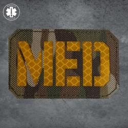 Laser-cut MED Patch by Medics Lodge