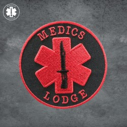 Medics Lodge Logo Patch