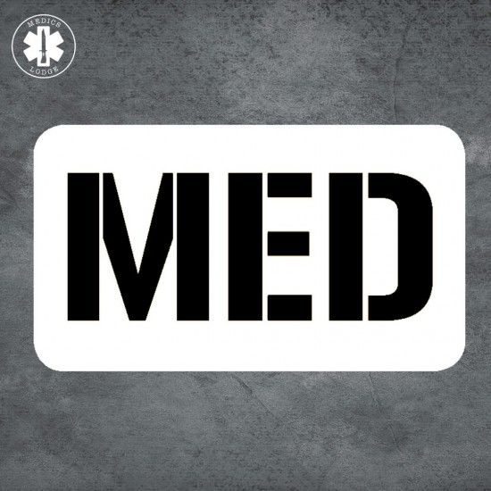 Medics Lodge Medical Stickers - (12 to choose from)