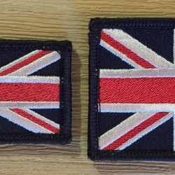Union Jack Velcro Badge