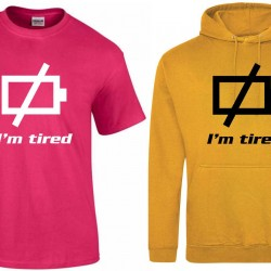 I'm Tired (recharge). the perfect gift for people who get tired very easily (Example Under active Thyroid, Chronic fatigue syndrome, fibromyalgia, many more)