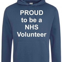 Proud to be an NHS Volunteer Hoodie - LIMITED STOCK - FREE SHIPPING